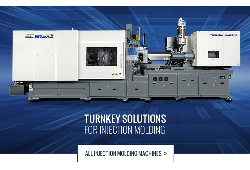 Shibaura Machine - Turnkey solutions for injection molding